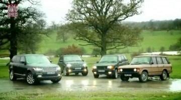 Vier generaties Range Rover
