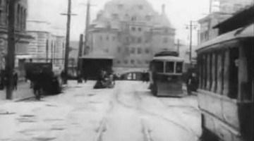 Vancouver Dashcam uit 1907