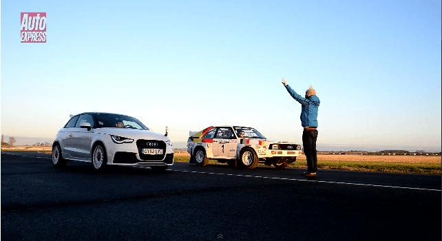 Audi A1 quattro vs Original Audi Quattro