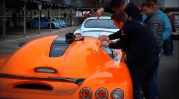 Sleutels opgesloten in je Koenigsegg?