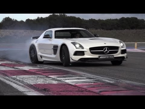 Chris Harris Test Mercedes SLS AMG Black Series