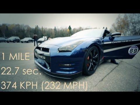 Nissan GT-R AMS Alpha 12+ doet 0-300 in 12.87 seconden