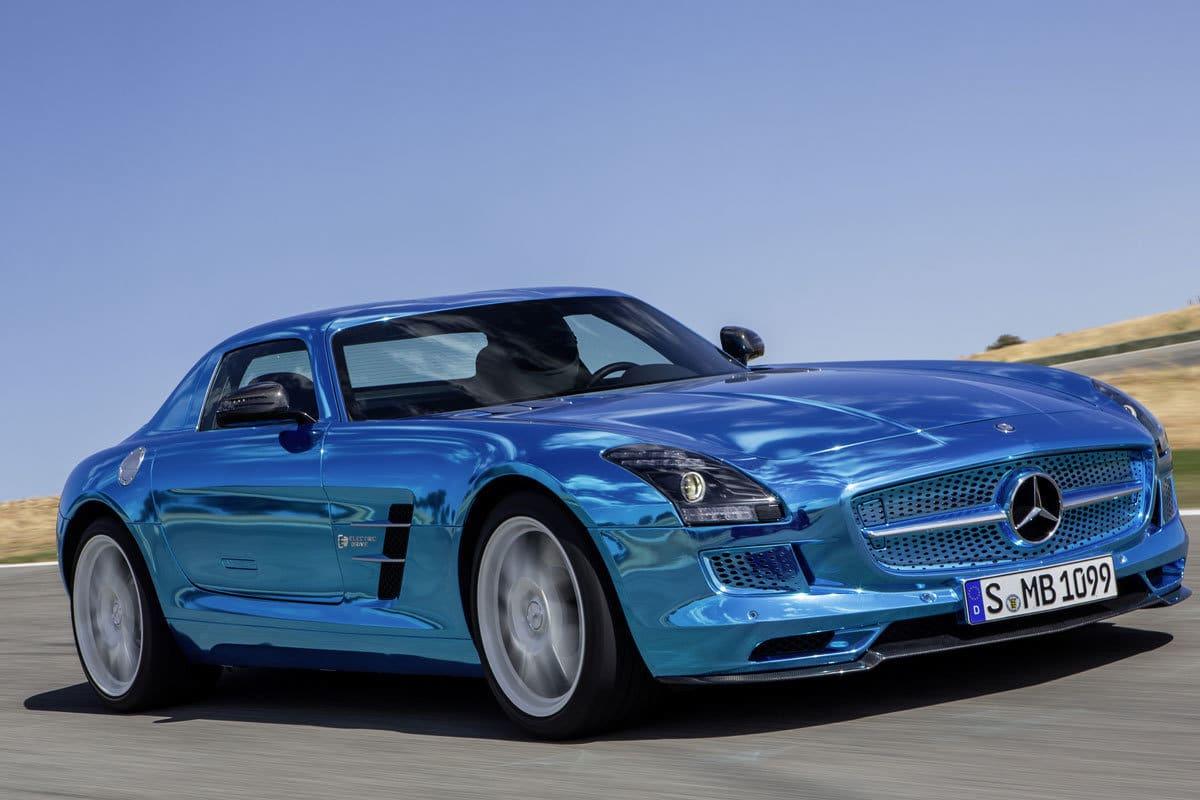 DRIVE - Mercedes SLS Electric Drive