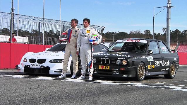 The Champions: BMW E30 M3 DTM vs BMW M3 DTM 2012