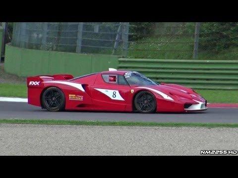 Ferrari FXX Evolution at Imola