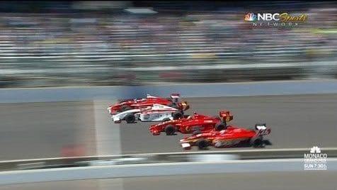 Adembenemende finish bij Indy Lights