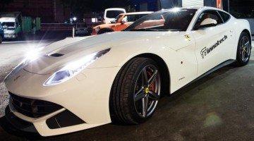 Ferrari F12 Berlinetta met Innotech uitlaat