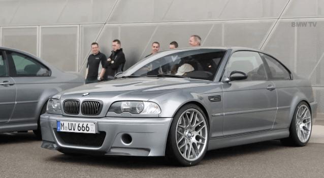 BMW M3 CSL viert zijn 10e verjaardag