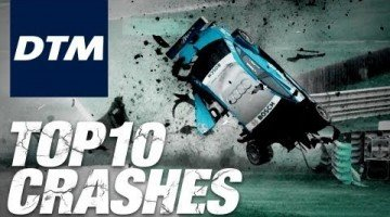 Top 10 DTM Crashes