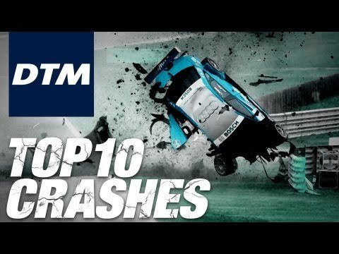 Top 10 DTM Crashes