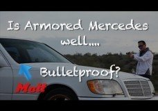 Is een Mercedes S600 Guard echt Bulletproof?