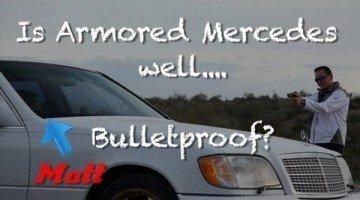 Is een Mercedes S600 Guard echt Bulletproof?