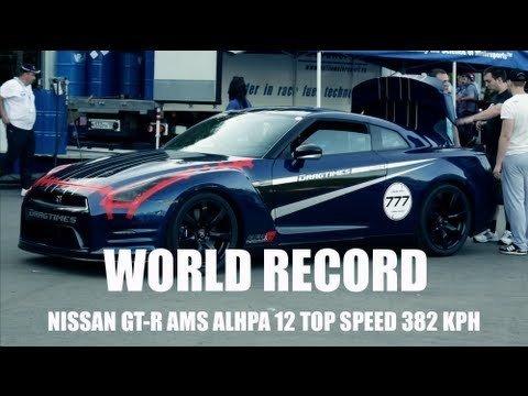 De snelste Nissan GT-R is van AMS Performance