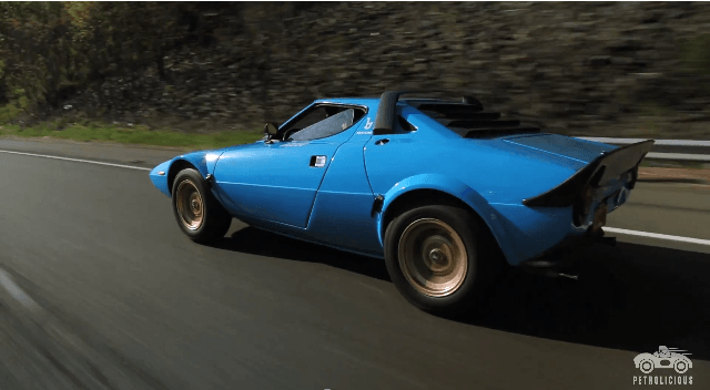 Petrolicious - Lancia Stratos