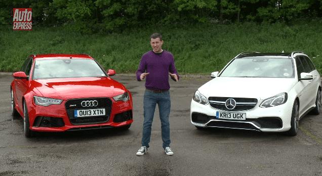 Audi RS6 vs Mercedes E63 AMG Estate review