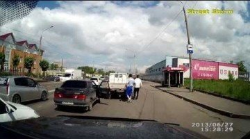 Rus trekt pistool om verkeersruzie te beëindigen
