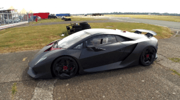 Top Gear Season 20 - Behind the Scenes Lamborghini Sesto Elemento