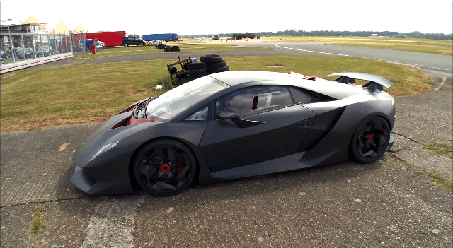 Top Gear Season 20 - Behind the Scenes Lamborghini Sesto Elemento