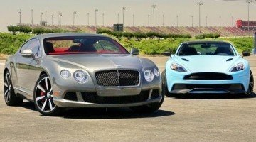 Aston Martin Vanquish vs Bentley Continental GT Speed