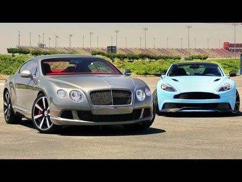 Aston Martin Vanquish vs Bentley Continental GT Speed