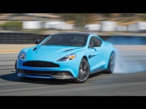 Best Drivers Car 2013 - Aston Martin Vanquish Hot Lap