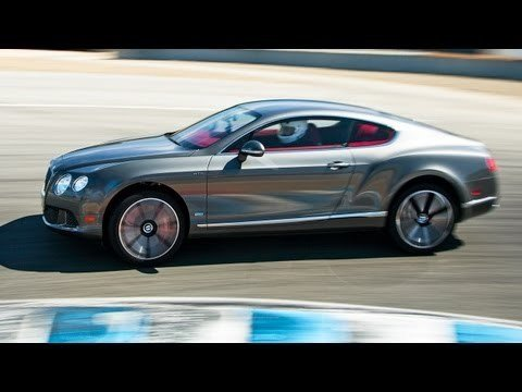 Best Drivers Car 2013 - Bentley Continental GT Speed Hot Lap
