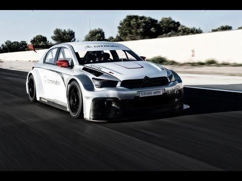 Yvan Muller & Sebastien Loeb testen nieuwe Citroën C-Elysee WTCC
