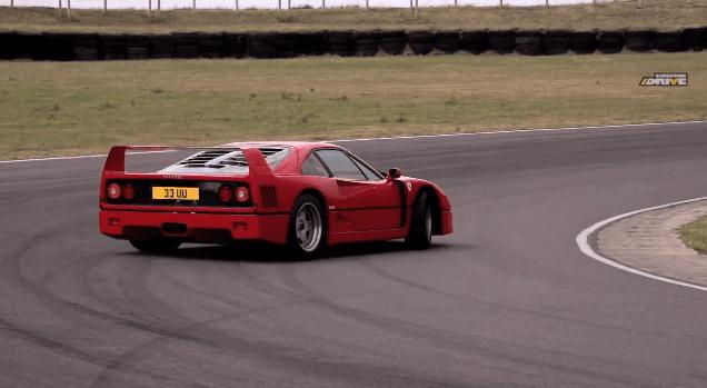 Chris Harris Test Ferrari F40 & Ferrari F50