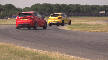 Renault Clio RS vs Ford Fiesta ST Mountune