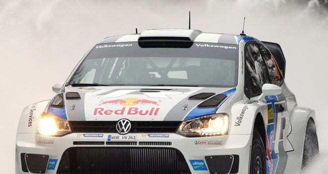 Sebastien Ogier's Polo R WRC in Slow Motion