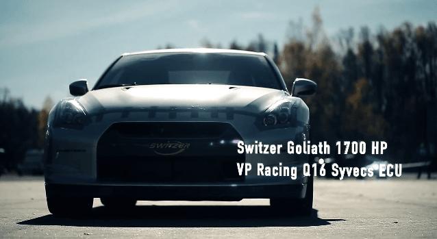 Switzer Goliath pakt snelheidsrecord Nissan GT-R
