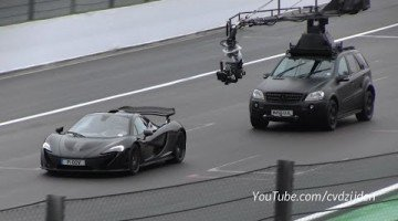 Jeremy Clarkson Test McLaren P1