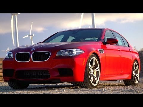BMW M5 Competition Package Review