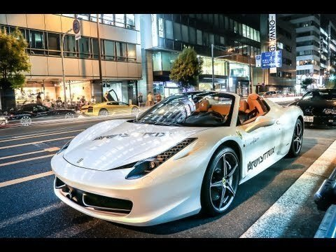 Het prachtige geluid van een Ferrari 458 Spider met Armytrix Uitlaat