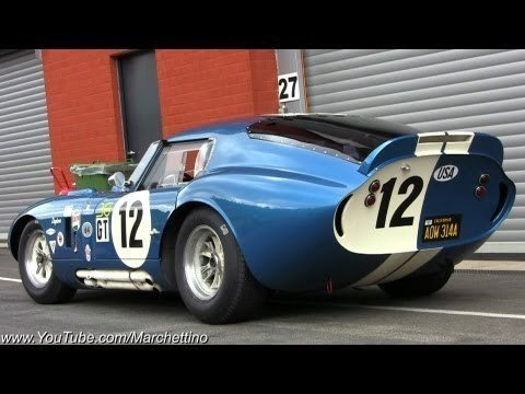 Shelby Daytona Coupe Op Spa-Francorchamps