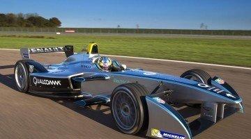 Formule E Test Debuut