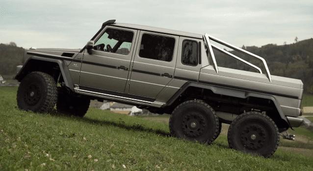Mercedes-Benz G63 AMG 6X6 Review