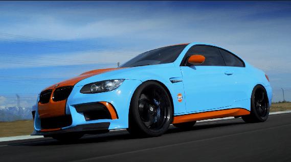 BMW M3 Gulf Edition