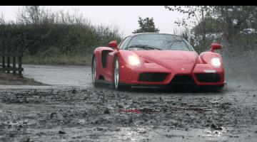 Ferrari Enzo in Slow Motion