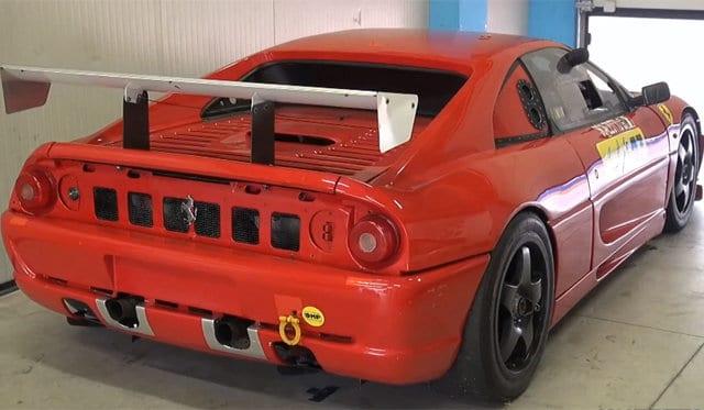 Ferrari F355 GT on Track