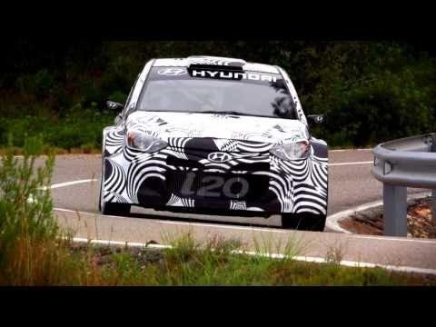 Hyundai i20 WRC Asfalt & Gravel Test