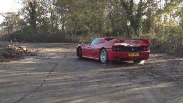 Ferrari F50 in Slow Motion