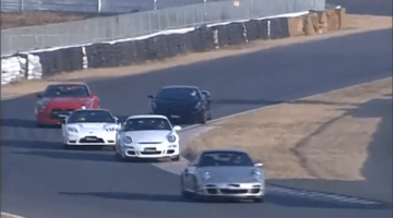 Gallardo vs GT-R, NSX-R, 911 Turbo en 911 GT3