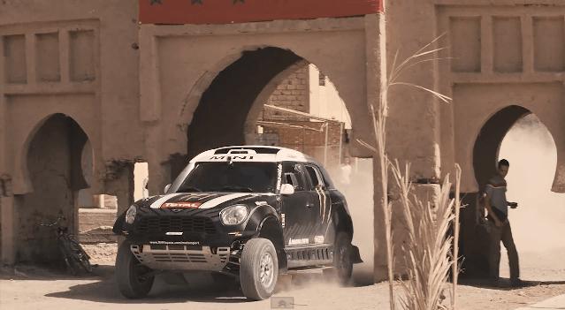 Mini en Stephane Peterhansel Klaar voor Dakar 2014