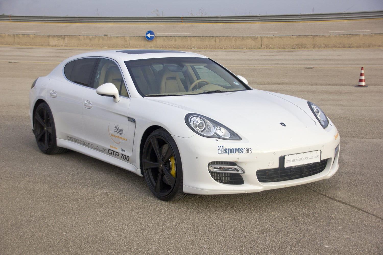Gemballa's Panamera is met 338 km/h de snelste 2 ton Sedan