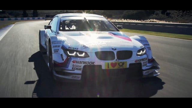 Tom Coronel test BMW M3 DTM