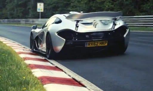 McLaren blijft teasen met Ring Tijd