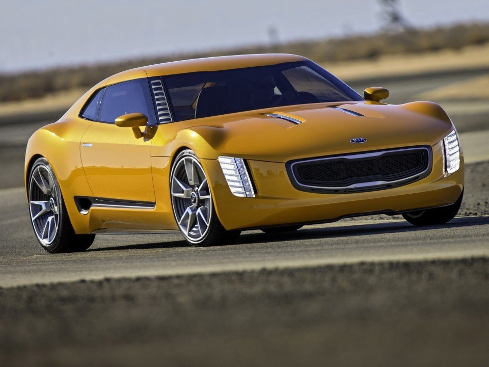 KIA GT4 Stinger - Muscle Car uit Korea