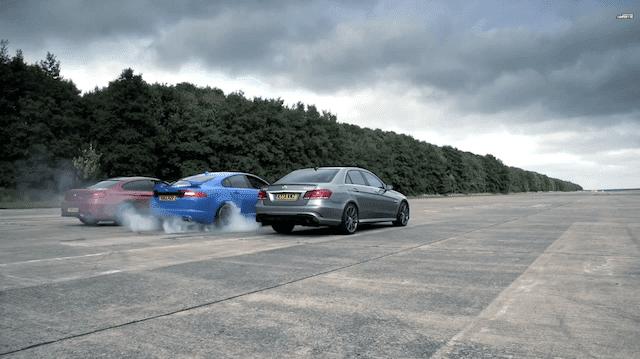 Chris Harris Test Super Sedans Back to Back