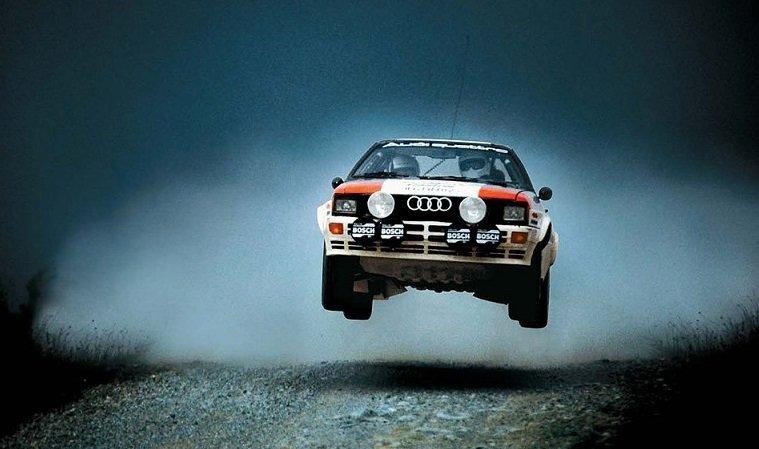 Een korte geschiedenisles over Audi Quattro